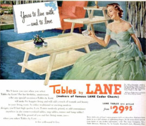 History of Lane Furniture: 1940-1957